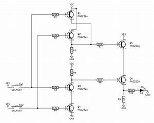 Npn Transistor Xor Gate Circuit