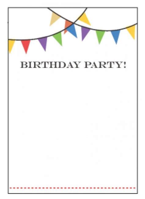 Free Invitation Templates by Free Birthday Invitations Templates Wblqual