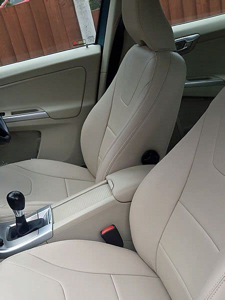 volvo xc faux leather car seat covers  retrim