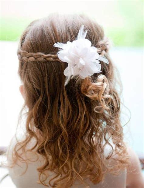 coiffure mariage fille cheveux mi coiffure fille pour mariage 30 filles d honneur