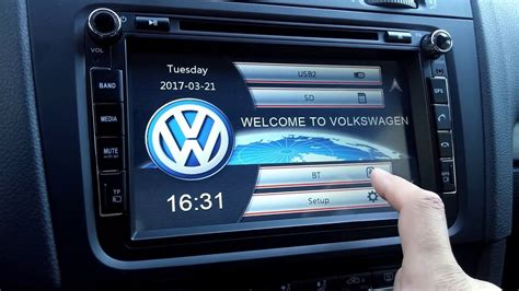 erisin navi multimedia vw golf  youtube