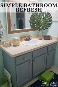 Easy, Bathroom, Refresh, Simple, Makeover, Ideas, U2022, Our, House