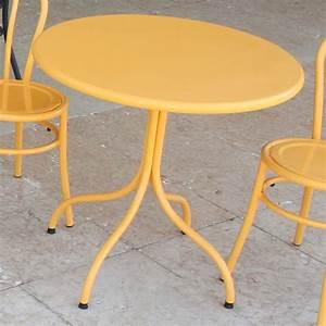 Runder Tisch 80 Cm Durchmesser : rig83 runder tisch aus metall durchmesser 60 cm in verschiedenen farben verf gbar f r garten ~ Bigdaddyawards.com Haus und Dekorationen