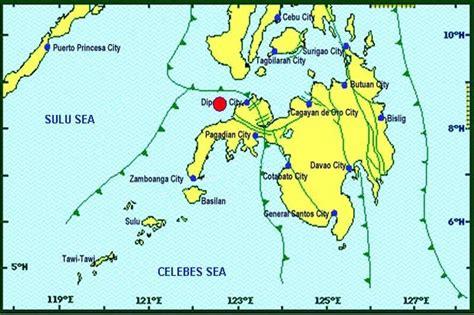 magnitude  quake hits zamboanga del norte philstarcom