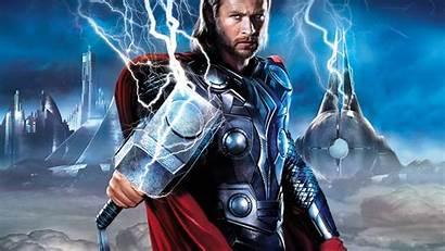 Thor Avengers Hammer Background Tablet Desktop Wallpapers