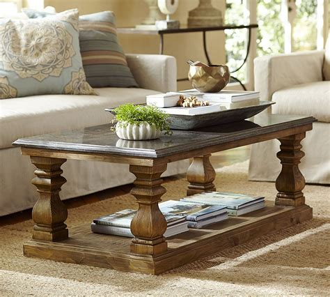 pottery barn tables how to style your coffee table