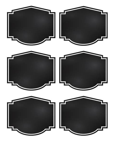 reorganized simplicity  printable chalkboard style