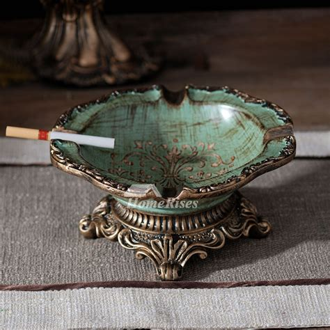 greenblue resin carved vintage decorative unique retro
