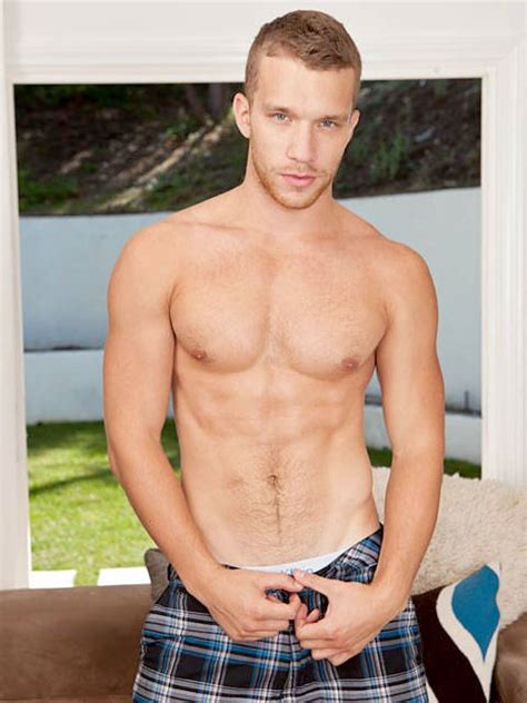 Model Of The Day JAKE ANDREWS RANDY BLUE Daily Squirt