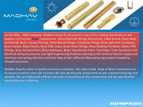 Madhav Exports Electrical Wiring Accessories Light