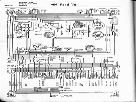 57 Ford Truck Wiring Diagram by 1959 Ford Alternator Wiring Diagram Wiring Forums