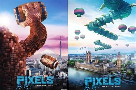 retro video games destroy cities    pixels
