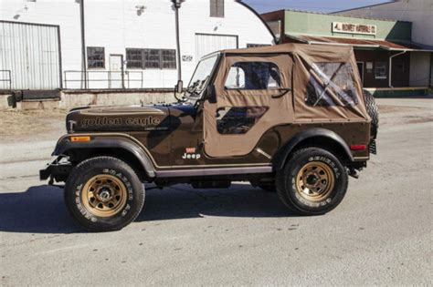 jeep golden eagle interior 1977 jeep cj5 golden eagle sport utility 2 door 5 0l levi