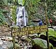 Entree Kibbles: Kipungit Waterfall @ Sabah Poring Hot ...