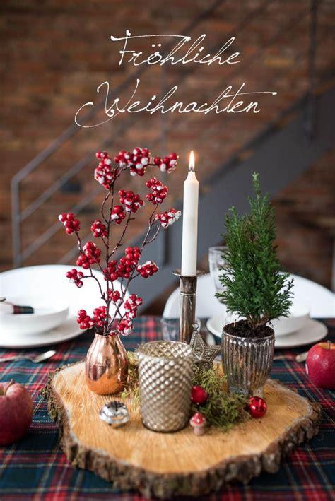 Weihnachtliche Tischdeko Holz by 25 Einzigartige Weihnachtliche Tischdeko Basteln Ideen