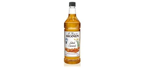 A flavor that is definitely taking our shop by storm. Monin Salted Caramel Syrup - Great For Flavoring Coffee,