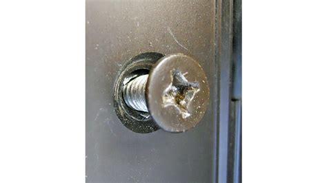 specialty screws  fix door hardware installation screw ups