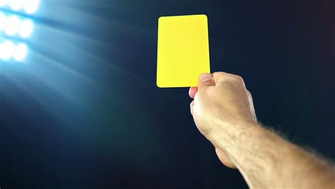 Each pack has 10 sheets. Fair Play. Soccer Penalty Cards. Soccer Yellow Card On Black Background. Stock Footage Video ...