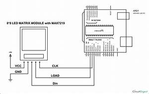 Arduino Led Matrix Circuit