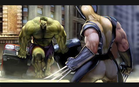 Hulk, Wolverine, Marvel Comics, Superman Wallpapers Hd
