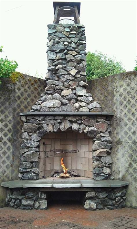 custom outdoor fireplace 11 best images about fireplaces on pinterest fire pits ovens and stone fireplaces