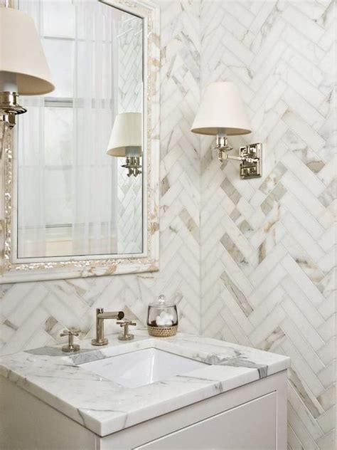 calcutta gold marble bathroom