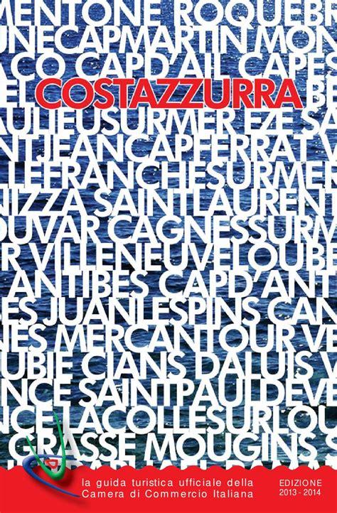 chambre de commerce italienne costazzurra 2013 2014 by chambre de commerce italienne de