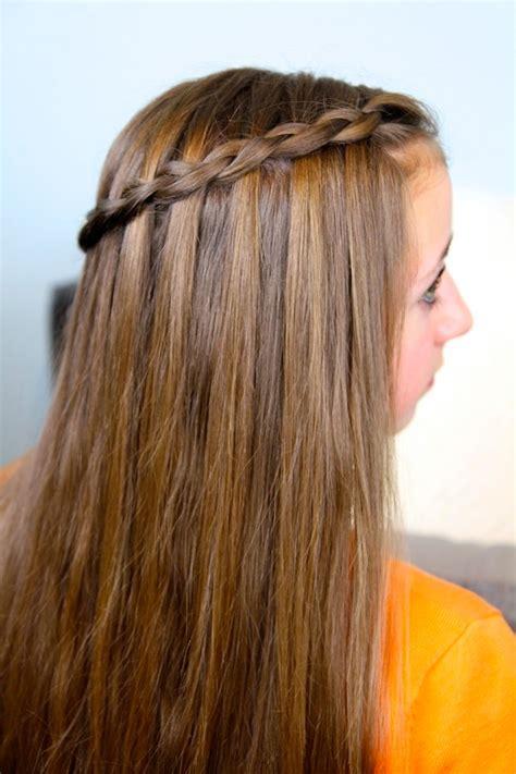 dutch waterfall braid cute girls hairstyles cute girls