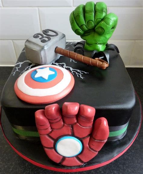 See more ideas about superhero cake, kids cake, cake. marvel avengers birthday cake | Favorite Cake IDEAS ...