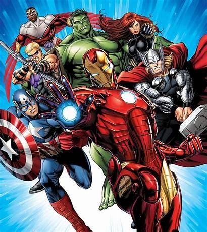 Avengers Marvel Mural Poster Paper Wall Iron