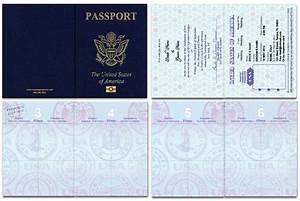 Passport, Cover, Template, Printable, Passport, Cover, Template