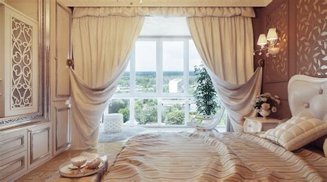 curtain design for home interiors traditional neutral curtain swags olpos design