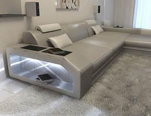 Couch L Form Mit Schlaffunktion : luxus designersofa aus leder groupon goods ~ Bigdaddyawards.com Haus und Dekorationen
