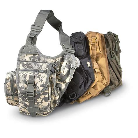 military style sidekick sling bag  military style