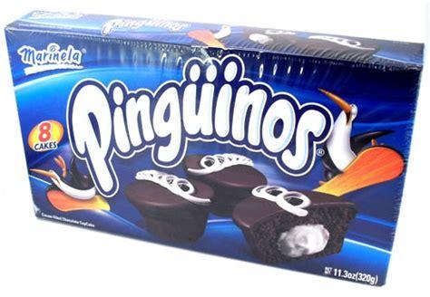 Pinguinos Marinela - Cream Filled Chocolate Cup Cakes - 8 ...