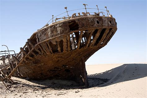 Boat Graveyard In Spanish by Shipwrecks On Land Incredible Creepy Photos Aral Sea And