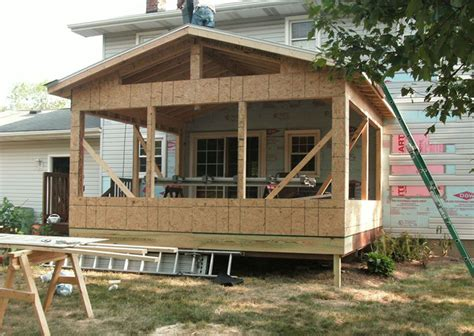 How To Build A Sunroom by How To Build A Porch With A Sunroom Cueni Construction