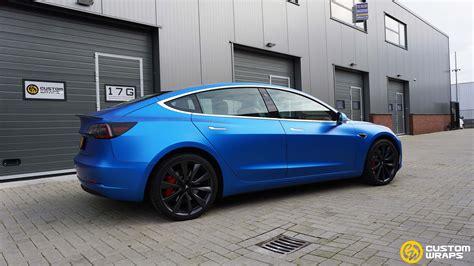 Get Custom Matte Tesla 3 Images