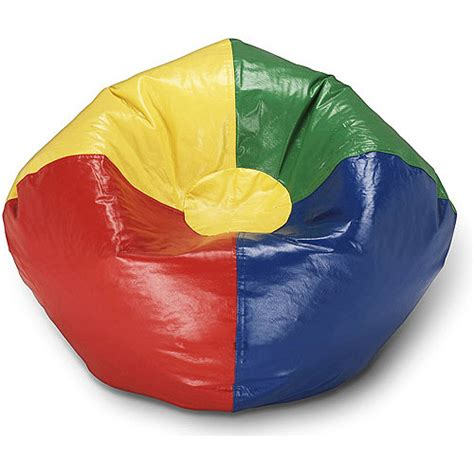 Ace Bayou Bean Bag Chair by Ace Bayou Multi Primary Matte Vinyl Bean Bag 98