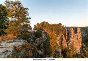 Saxony Germany Elbe Sandstone Mountains