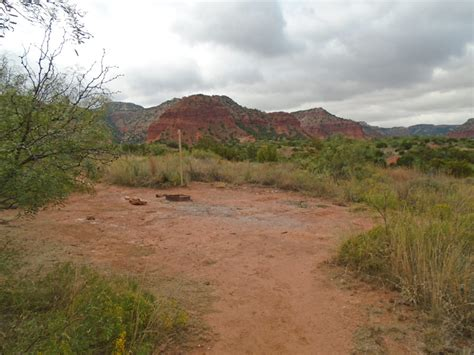 caprock canyons state park trailway primitive campsites walk  south prong texas parks
