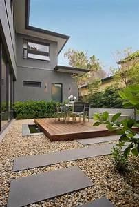 Paysager Son Jardin : le jardin paysager tendance moderne de jardinage ~ Dallasstarsshop.com Idées de Décoration