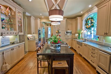 French Country Kitchen With Flair  Traditional Kitchen