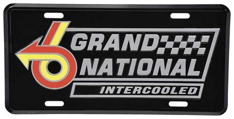 Buick Grand National Logo by Buick Regal Parts Lifestyle Products Novelty Items
