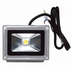 Projecteur Led 12v : projecteur led 10w 12 24v blanc neutre ip65 ext rieur 24 ~ Edinachiropracticcenter.com Idées de Décoration