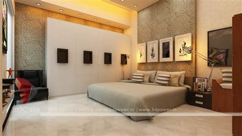 Home Bedroom Designs Interior by Interior Architectural Nashik 3d Power