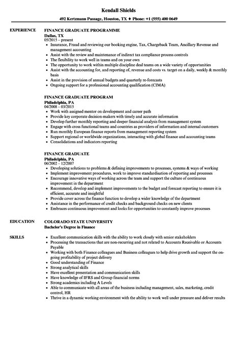 Finance Resume by Bachelor Degree Resume Sle Sarahepps