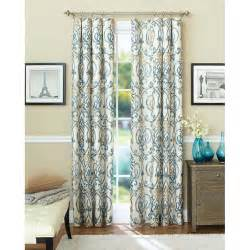 better homes and gardens ikat scroll curtain panel