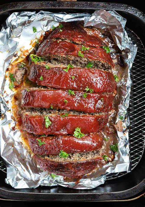 meatloaf fryer air recipe recipes tastyairfryerrecipes tasty basket easy cook beef meaty cooking fried