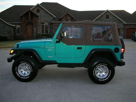 aqua jeep wrangler turquoise jeep wrangler for sale html autos weblog